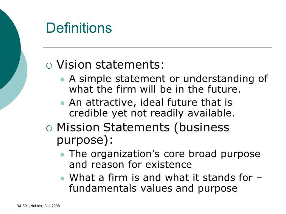 walt disney vision and mission statement