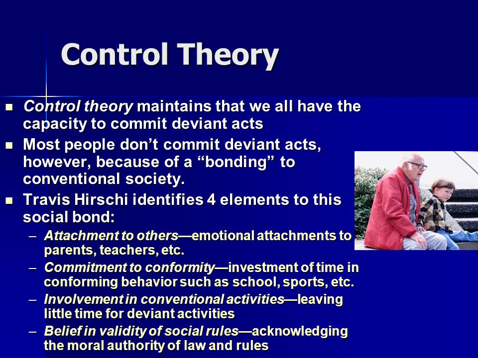 differential association and social bonding theory Of differential association theory, 1947) completely mediate the effects of social control measures of social bonds and friends' delinquency costello and vowell contend that.