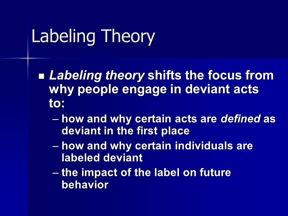 labeling people in society The american society of consultant pharmacists foundation, in collaboration with the american foundation for the blind, developed guidelines for prescription labeling and consumer medication information for persons with vision loss (guidelines) the purpose of the guidelines is to provide.