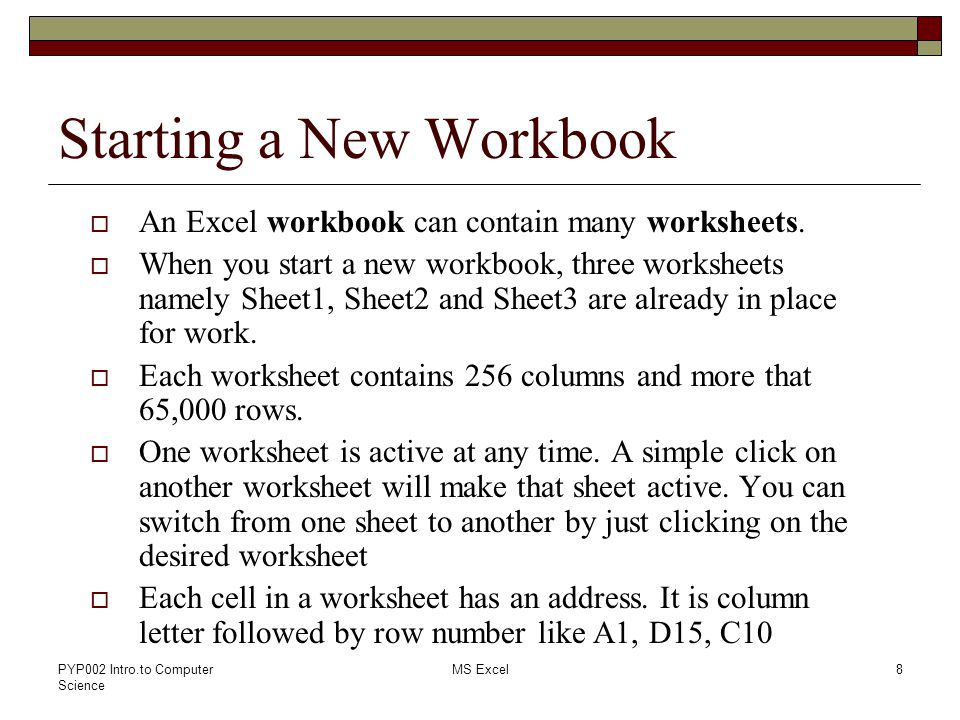 Lab 08 Introduction to Spreadsheets MS Excel - ppt video online ...