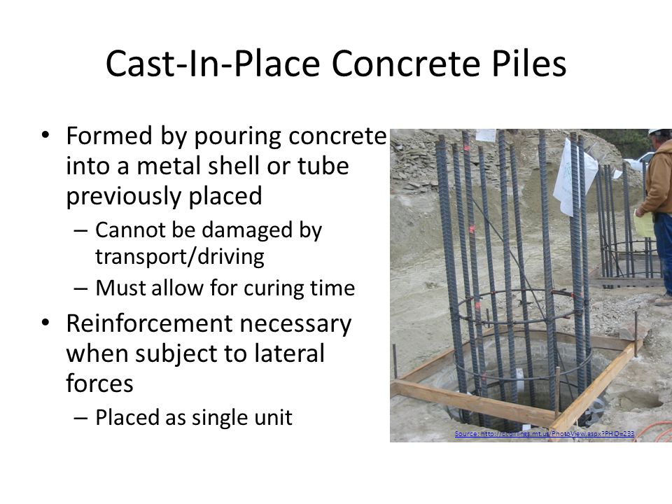 the precast concrete piles engineering essay Precast concrete piles - advantages and disadvantages  precast concrete piles  are cast, cured and stored in a yard before they are installed.