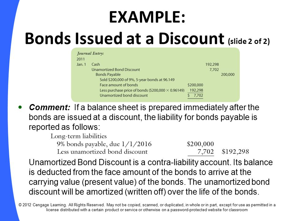 bond and bonds payable A bond is a form of long-term debt in essence, a bond is an iou given by a company and purchased by an investor for cash this means that the company (or corporation) is borrowing money from the investor, and it is paid back in a specific amount of time.