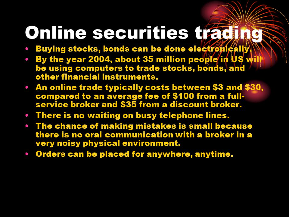 Citic securities internet trading system