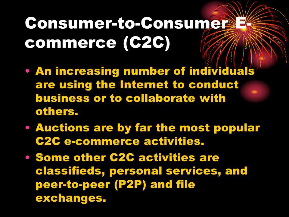 Consumer-to-Consumer E-commerce (C2C)