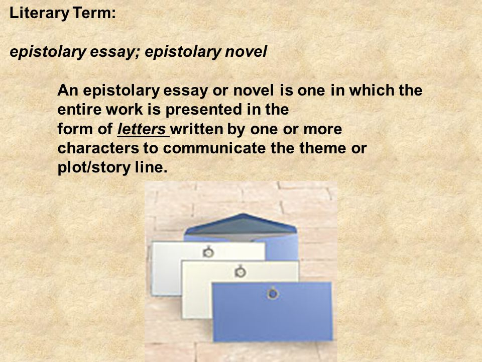 c s lewis the screwtape letters ppt literary term epistolary essay epistolary novel an epistolary essay or novel is one