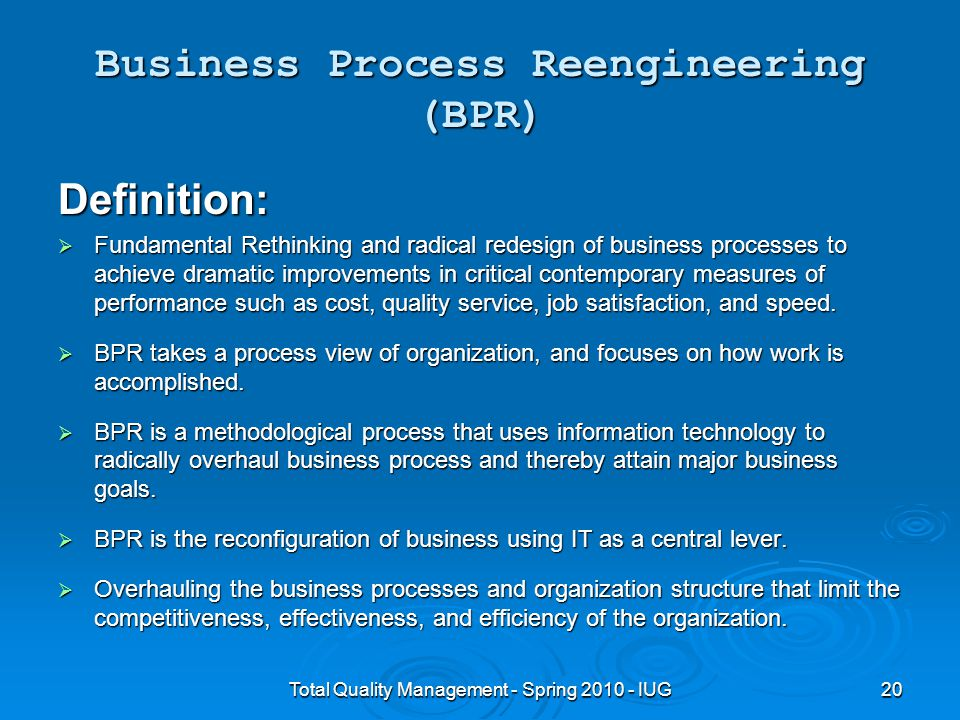 organizational culture reengineering services process and This paper focus on organizational re-engineering methods and approaches   innovation and change in product and services in industrial societies  behavior  and culture of all people, have been affected by it  the acceleration of business  process and, consequently, more competitive organizations.