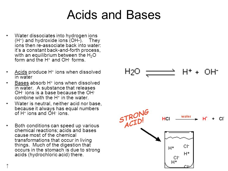 Chemistry At the bottom, biology is nothing but applied chemistry ...