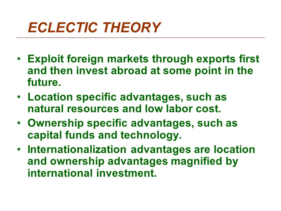 chapter 17 international portfolio theory and diversification Modern portfolio theory and investment analysis,  chapter 12: international diversification  chapter 17: efficient markets.