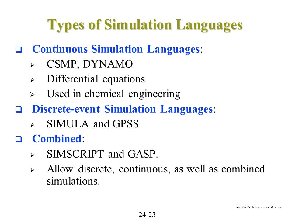 types of simulations There are many more types of blocks available in simulink, some of which will be discussed later right now,  running simulations to run a simulation,.