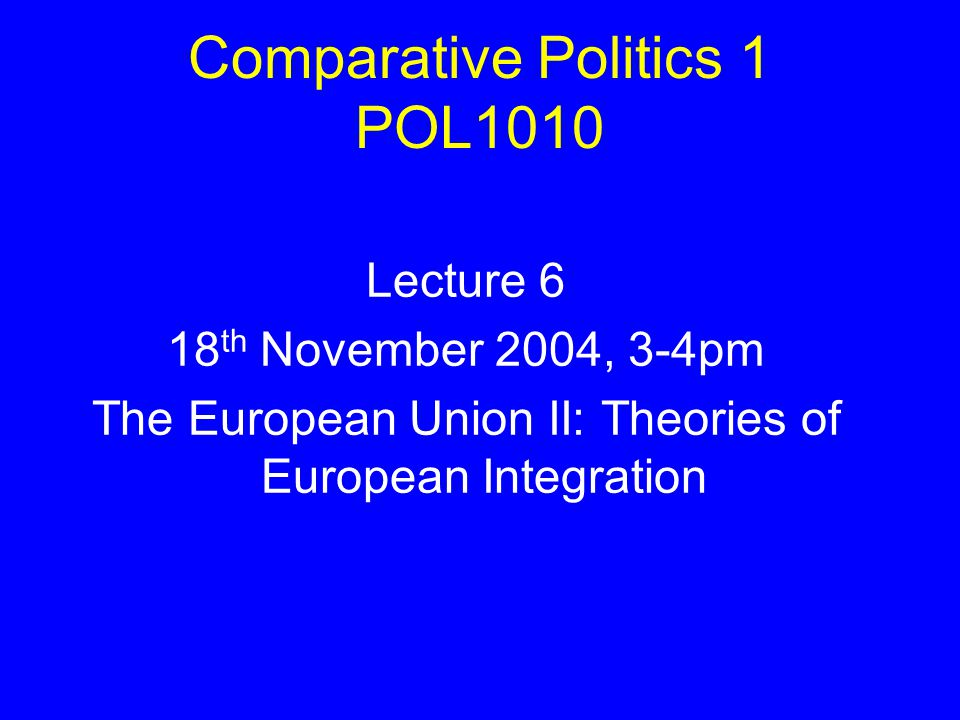 an analysis of the role of neo functionalism and intergovernmentalism to european integration in the Lastly, by providing a description of the chain of historical events, theoretical approaches, and integration narratives, i hope to prove how the european integration process is a mélange of the different elements of the two theories, giving the eu the status of a peculiar institution that makes new definitions of regional and international integration and cooperation.