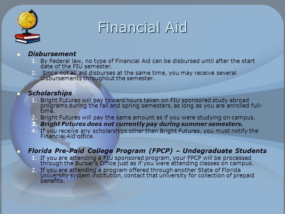 Financial aid disbursement dates in Brisbane
