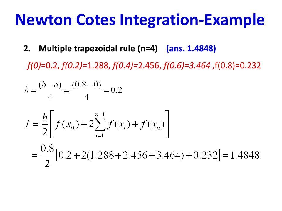 integration rules with example pdf