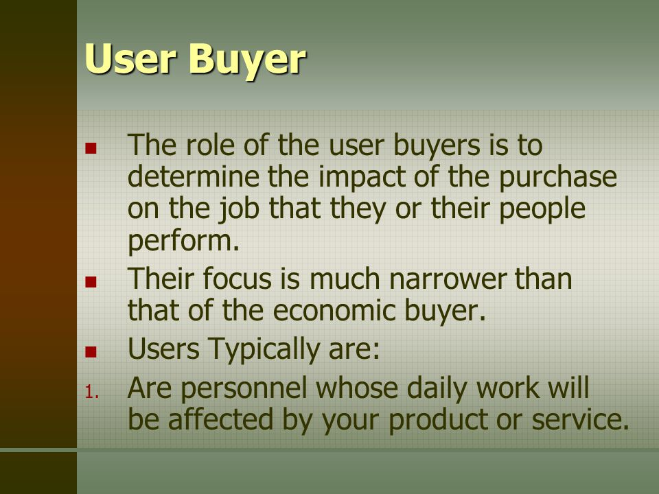 roles of users payers and buyers Understand the roles of users, buyers, and payers  3m 48s innovate by relieving and enabling customers  3m 51s what do customers want  roles and resources in value constellations  5m 12s.