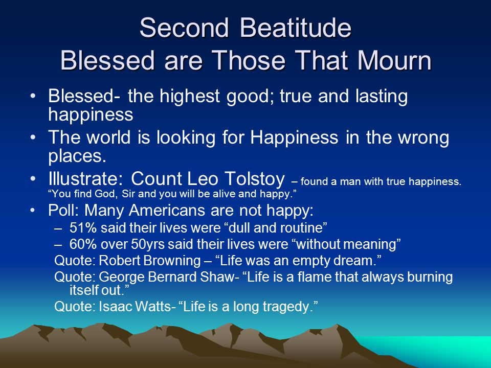 the beatitudes and their explanation essay I am going to have a post once a week this month for the beatitudes this week will begin the series with the lesson, visuals and more  what a blessing you are to parents who wish to.