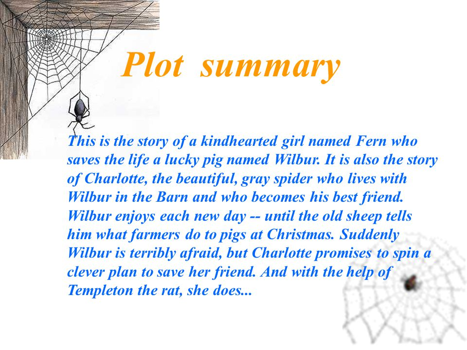 charlottes web by eb white essay Essays of eb white essays of eb white  the author of such beloved classics as charlottes web, stuart little, and the trumpet of the swan,  sample essay about me.