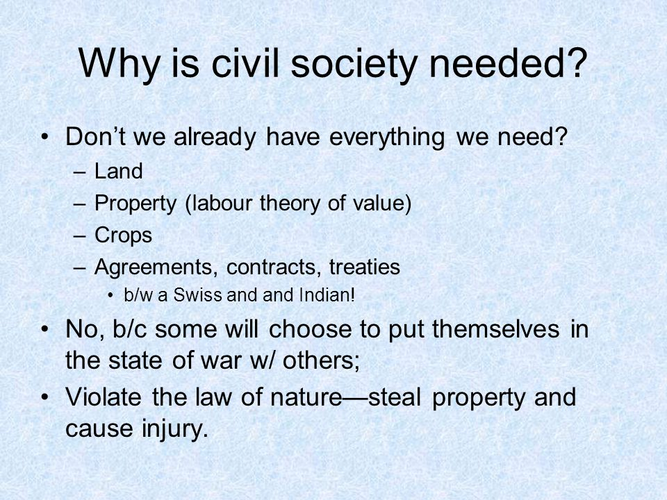 why society needs laws essay Why should people obey the law by covering some of the basic reasons why people obey the law we will grasp a better understanding why the majority of society follows these laws.