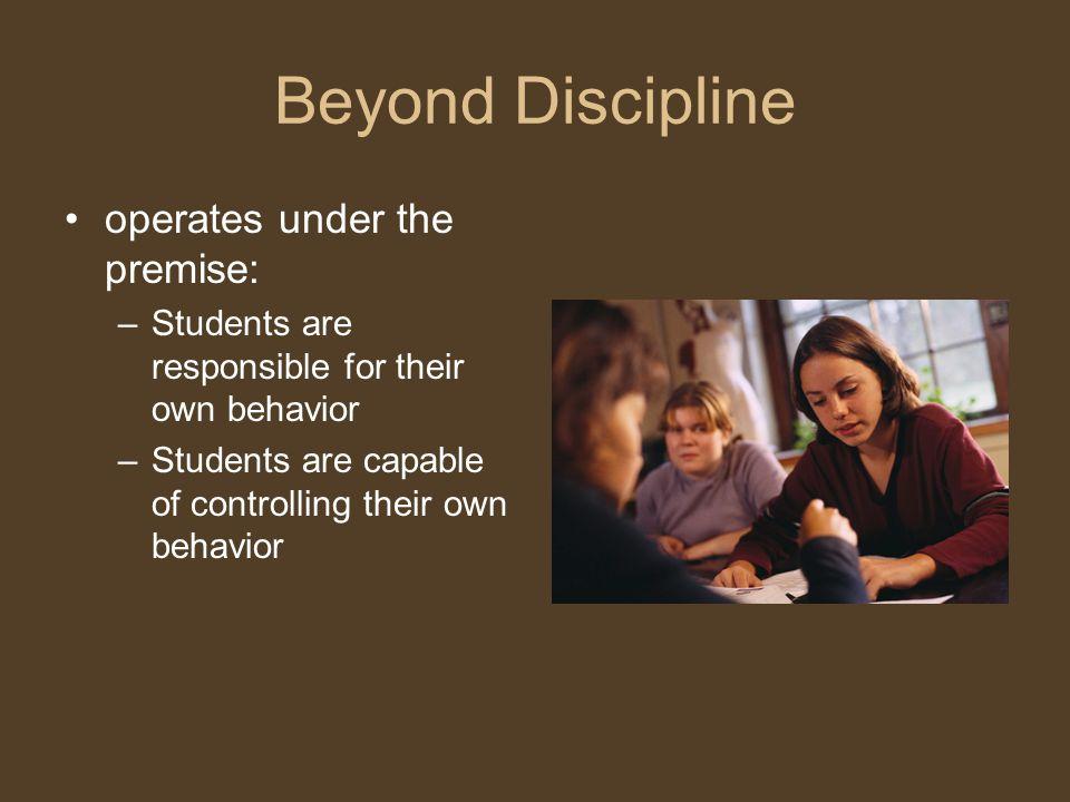 alfie kohns beyong discipline