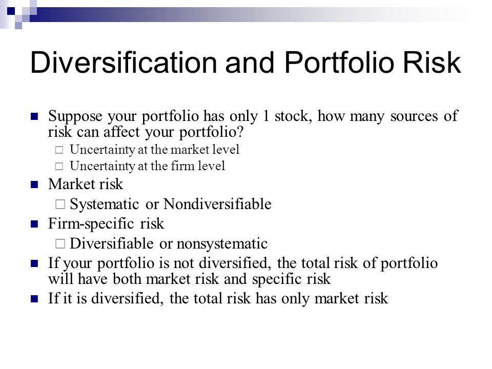 diversification in stock portfolio Spring 2013 the journal of portfolio management 39 risk parity, maximum diversification, and minimum variance: an analytic perspective roger clarke, harindra de silva.