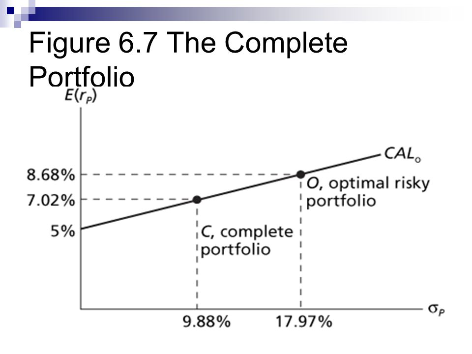 Figure 6.7 The Complete Portfolio