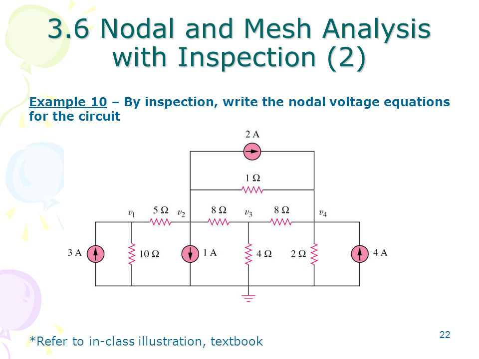 3.6 Nodal and Mesh Analysis with Inspection (2)