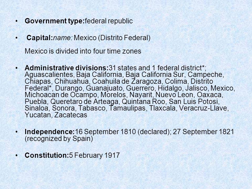 Bienvenidos a mexico ppt download 11 government sciox Gallery