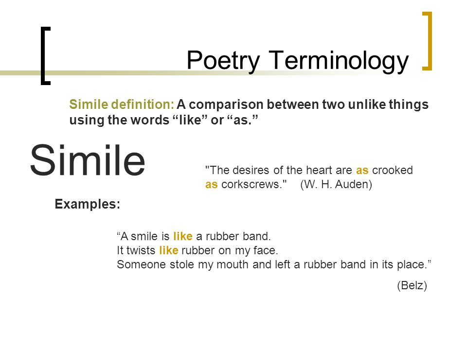 Simile Dictionary Definition Simile Defined Psychologyarticlesfo
