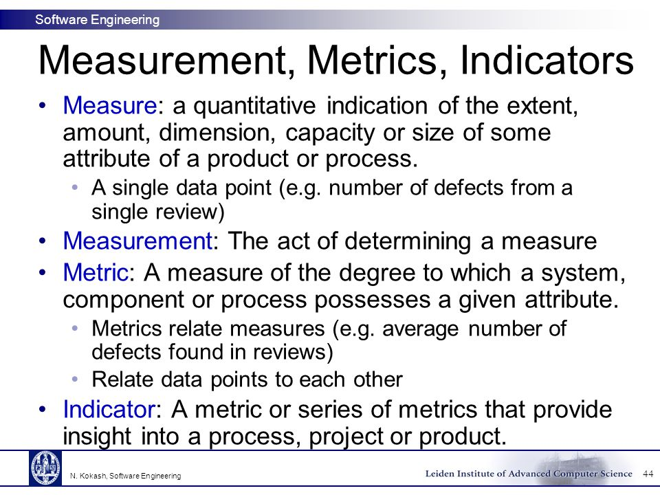 product metrics in software engineering pdf