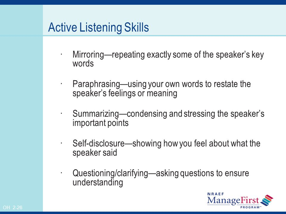 Effective Communication ppt video online download – Active Listening Skills Worksheets