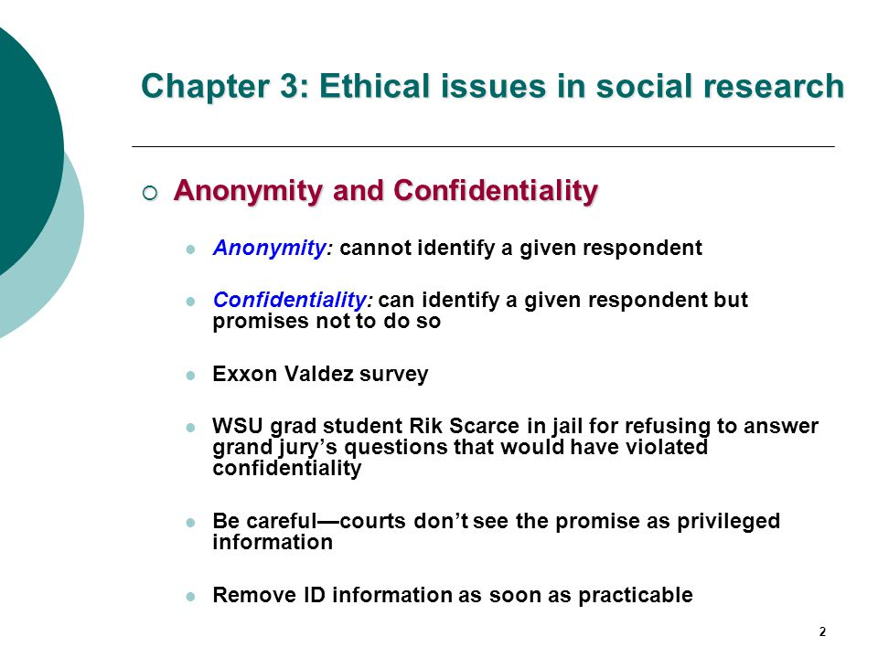addressing an ethical issue social The ethics of social research • how do ethical issues influence your selection of a research participated in both social scientific and biomedical research.
