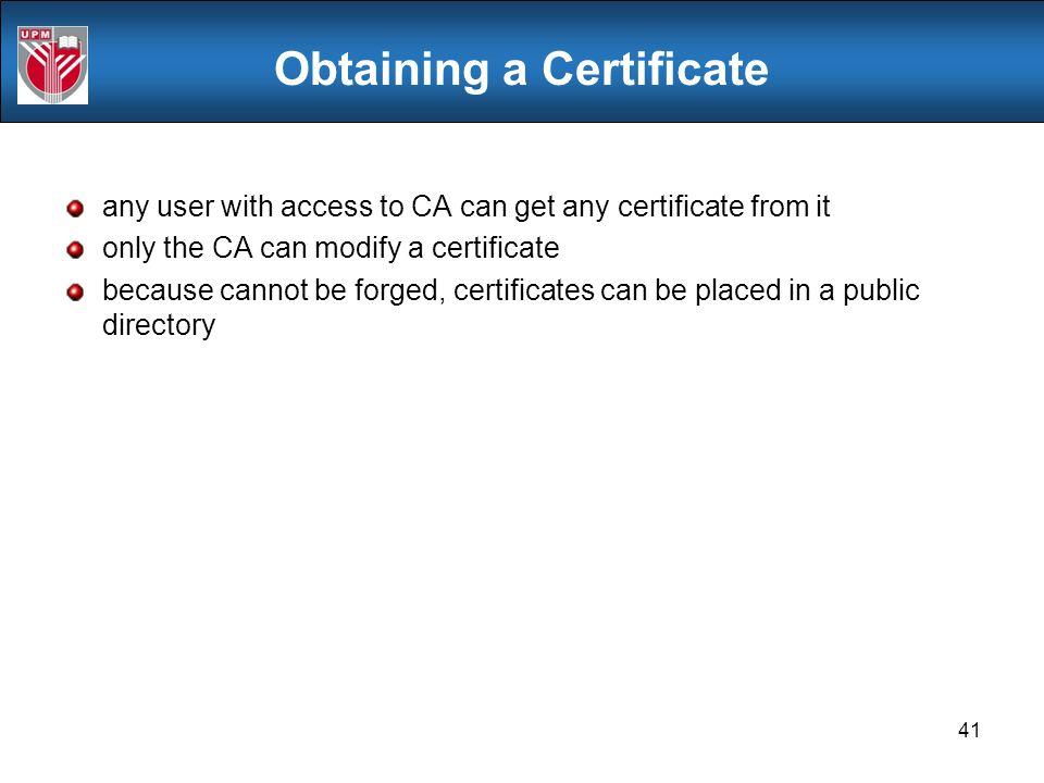 how to get ca certificate