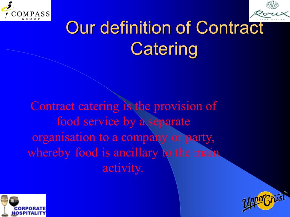 Contract Catering Yes Or No  Ppt Video Online Download