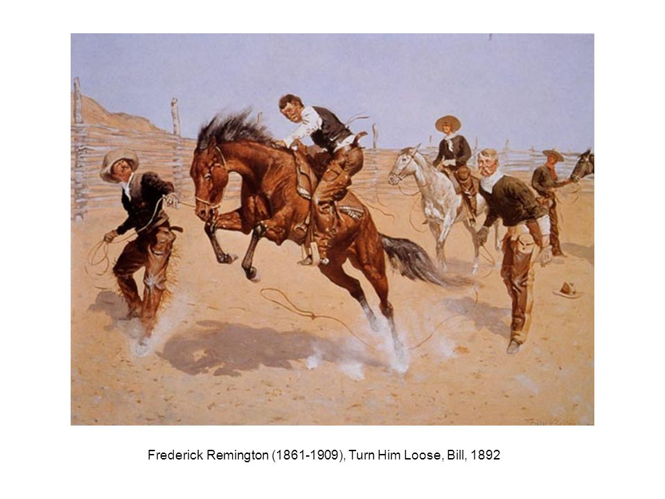 Frederick Remington (1861-1909), Turn Him Loose, Bill, 1892