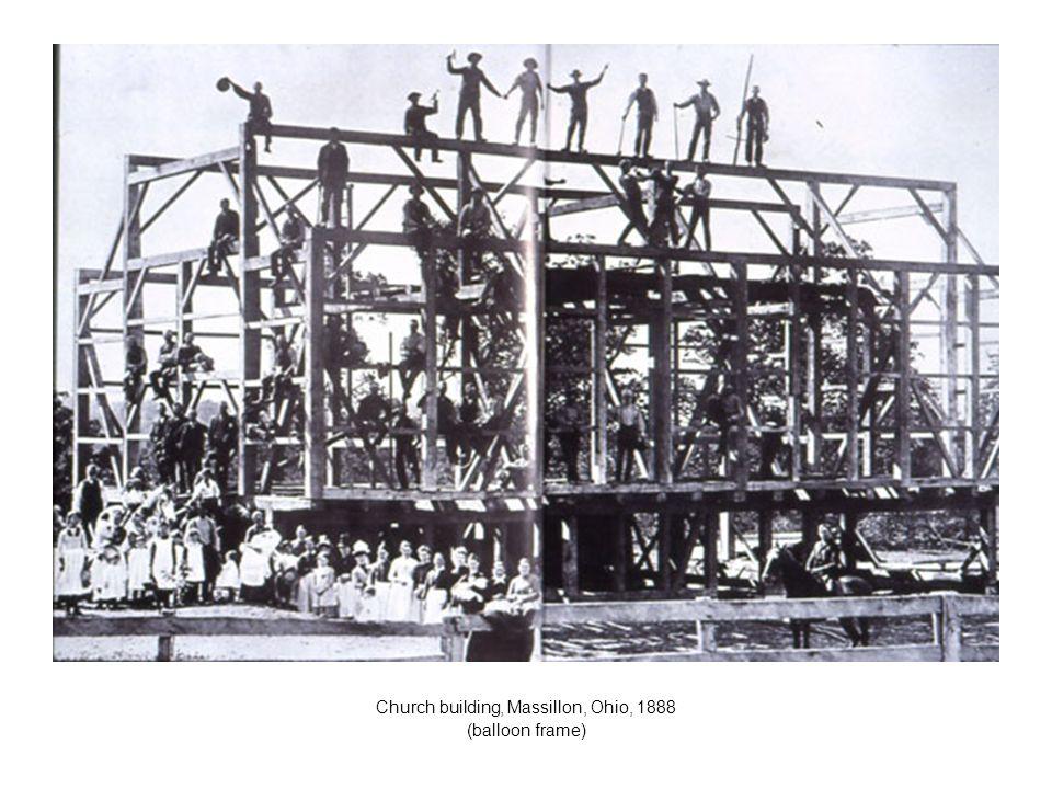Church building, Massillon, Ohio, 1888
