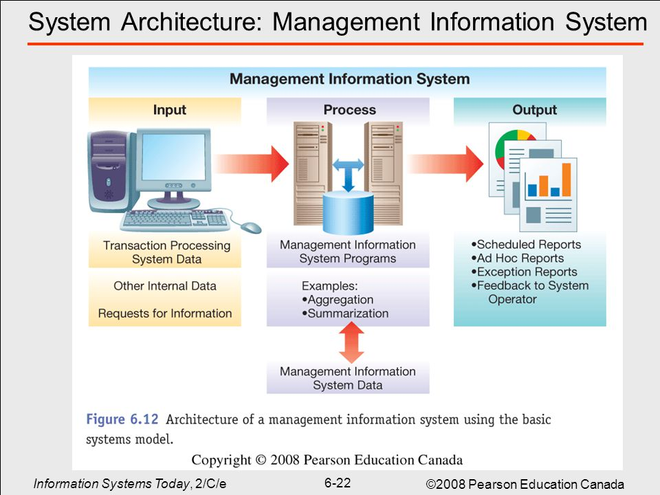 manage information systems Managers use management information systems to gather and analyze information about various aspects of the organization, such as personnel, sales, inventory.