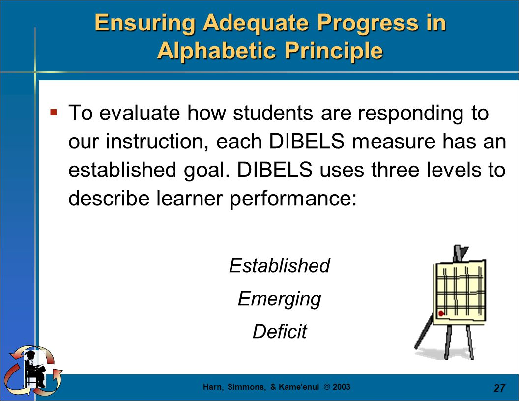 adequate progression She is making adequate progress with the high-quality instruction she receives in tier 1 although mrs hernandez will continue to keep an eye on megan's progress.