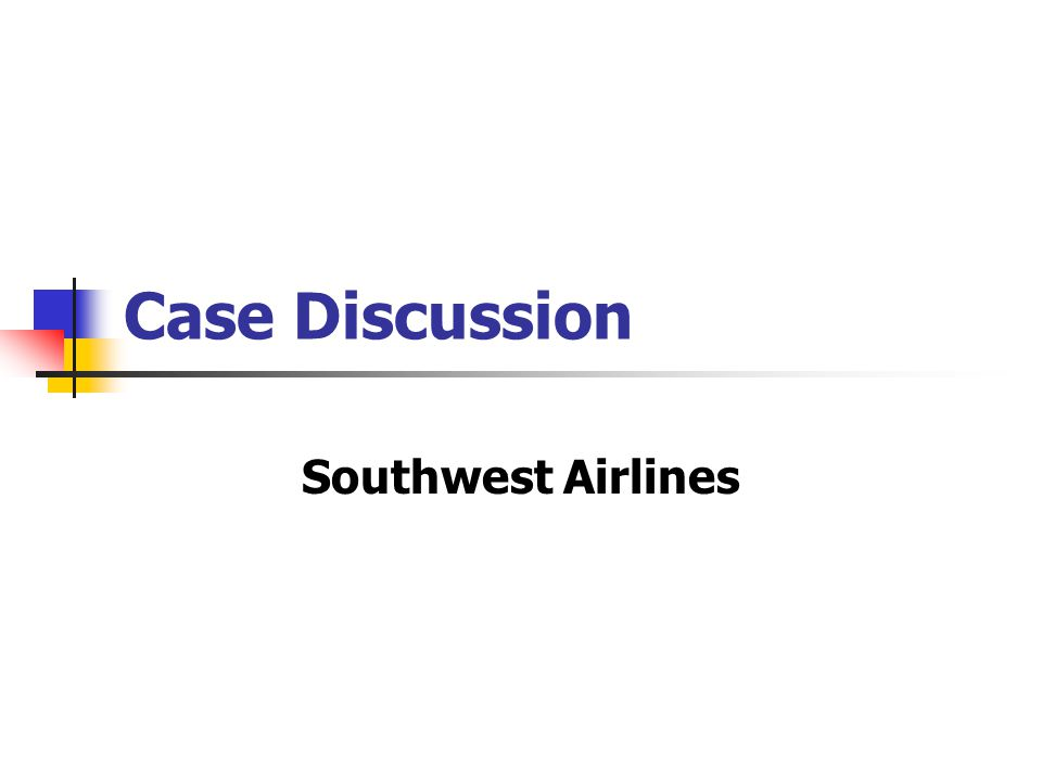 southwest airlines an economic perspective Find cheap southwest $59 flights & deals on skyscanner, including southwest  sales  the company even came up with a term for its approach to sales, called .