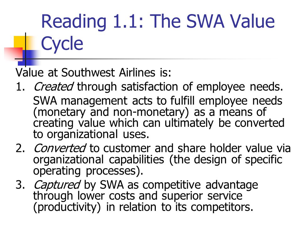 the performance management system of southwest airlines and the interrelation of different processes As different companies have different economic and cultural backgrounds, findings on success factors and management methods from developed countries may not be applicable to enterprises in developing countries: for example, it has been argued that american management methods may not work in asian countries (see mendonca and kanungo 1996 ueltschy et al 2009 metters et al 2010).