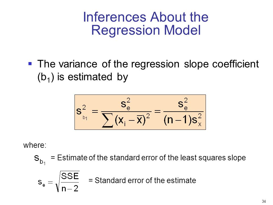 Inferences About the Regression Model