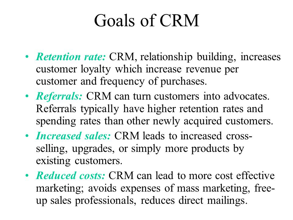 crm customer retention Customer retention refers to the ability of a company or product to retain its customers over some specified period high customer retention means customers of the.
