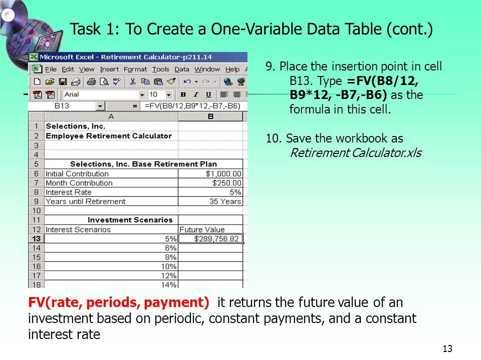 Desjardins retirement calculator xls examples