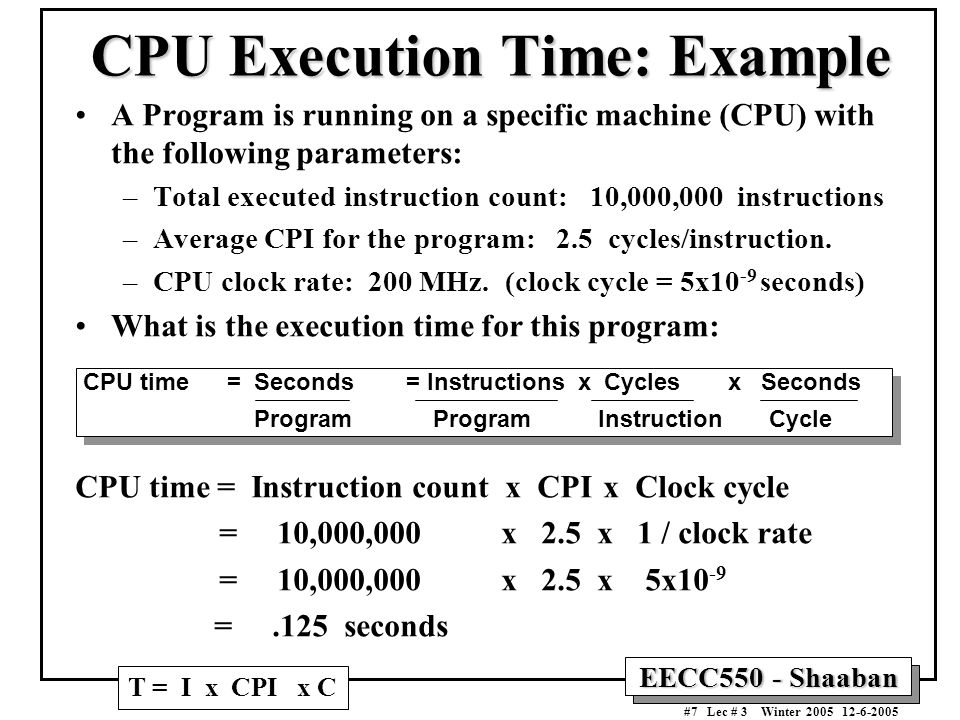 factors affecting cpu performance pdf