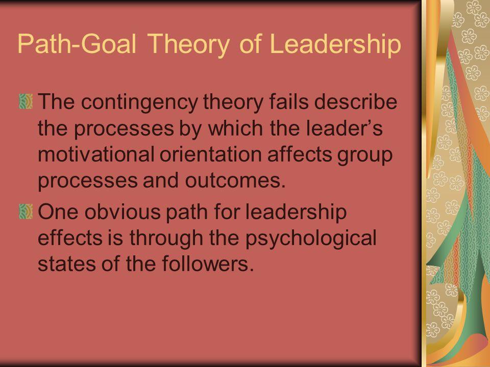 path goal theory of leadership essay
