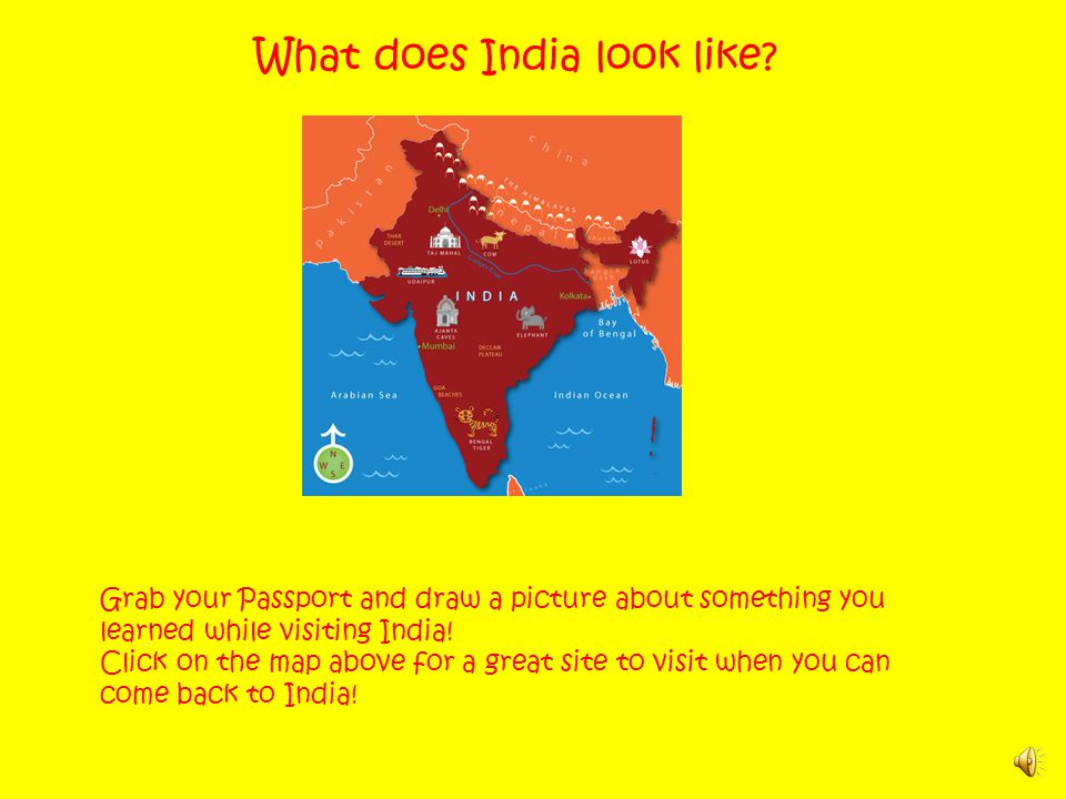 What does India look like