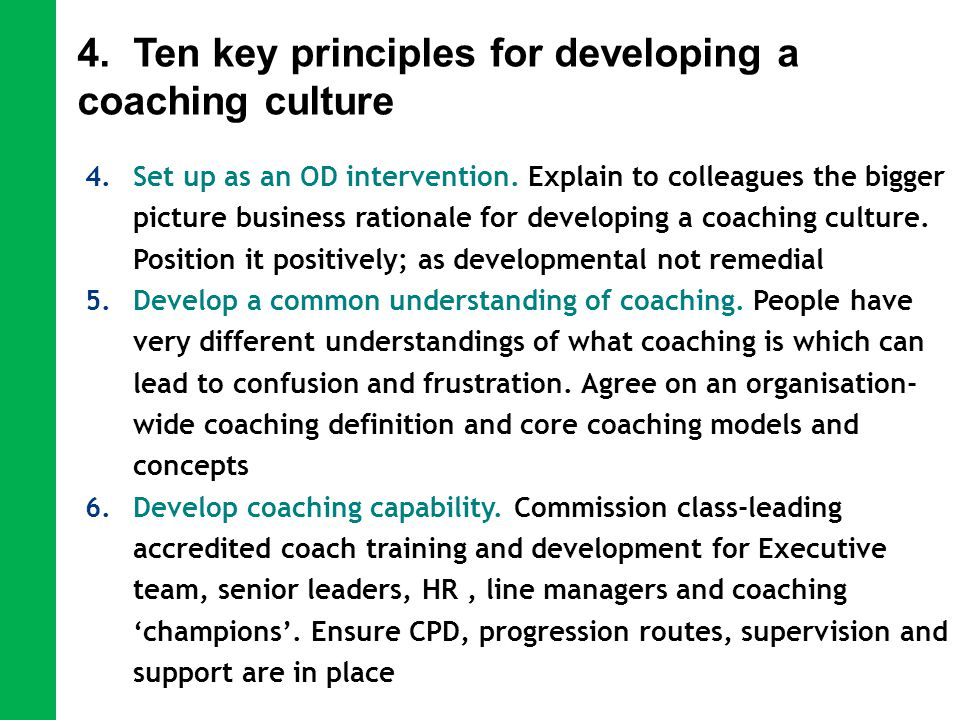 developing a coaching culture at weatherford Welcome to team fusion we work with award winning and aspiring award winning companies to take their business to the next level.