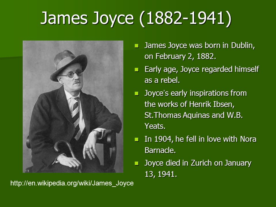 "eveline"" and ""the dead"" from james joyce s dubliners ppt video  2 james"