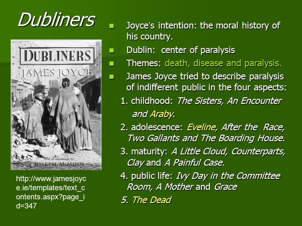 a report on the short story the boarding house by james joyce Analysis symbols in the boarding house by james the scope of this study is to analyse the symbols that uses in the short story the boarding house by james joyce.