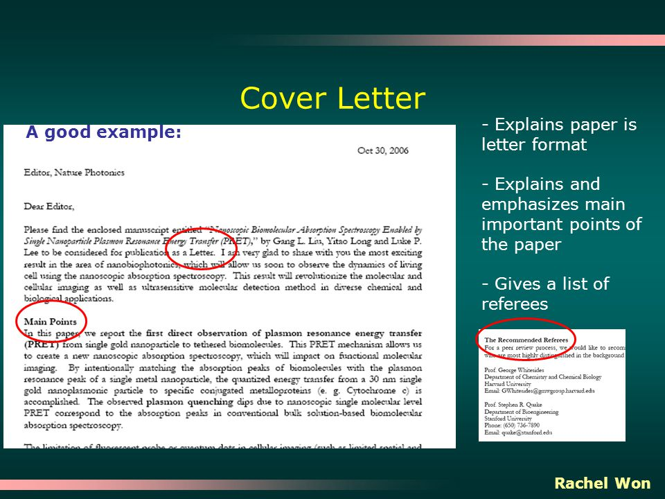 Resume Cover Letter Engineering