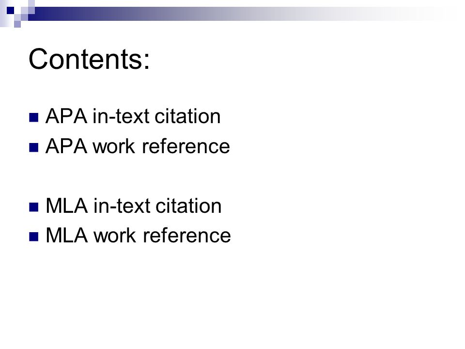 mla referencing While other formatting styles could be challenging, the mla citation style can make your formatting work easier because it is straightforward.