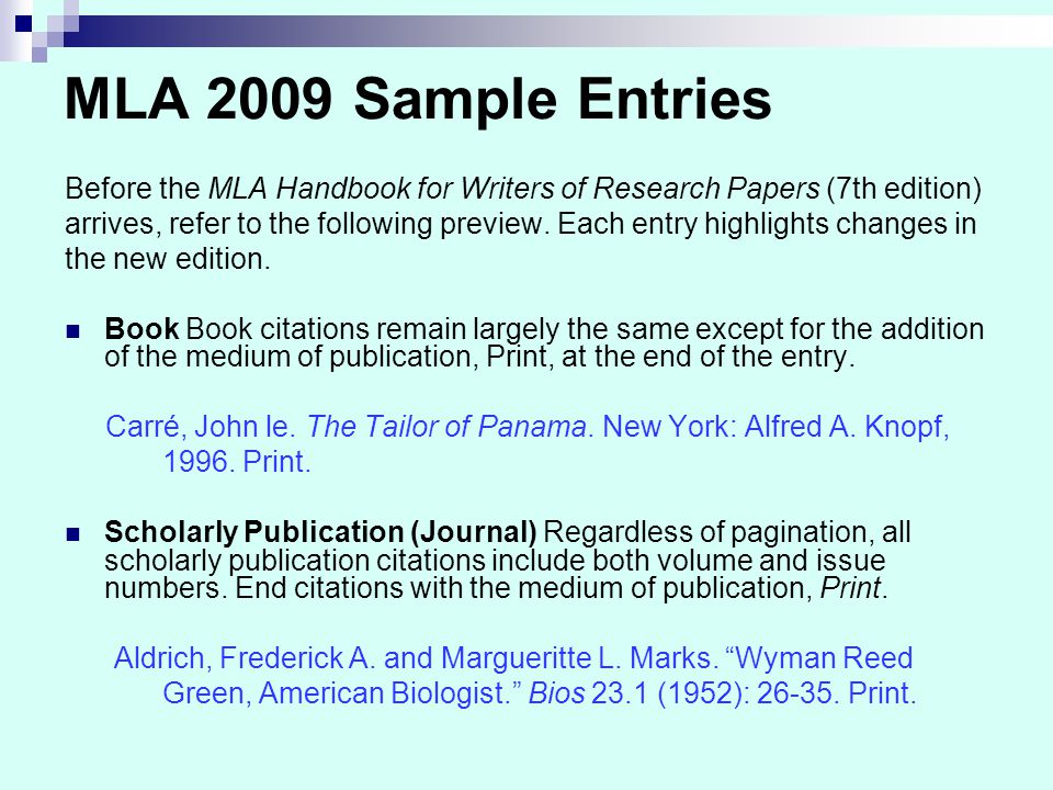 9th edition handbook mla papers research writer