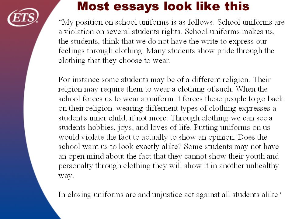 argument schhol uniform essay